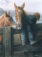 Grandpa's Farm Fine Art Print