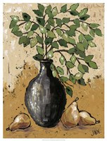 Leaves & Pears Fine Art Print