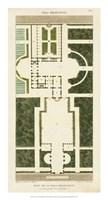 Plan de la Villa Bolognetti Fine Art Print
