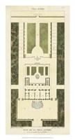 Plan de la Villa Altieri Fine Art Print