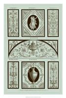 Panel in Celadon I Fine Art Print