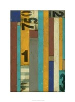 Primary Numbers I Fine Art Print