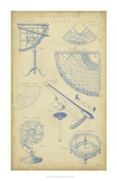 Vintage Astronomy I Fine Art Print