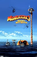 Madagascar 3 - Europe's Most Wanted Wall Poster