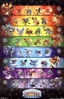 Skylanders Giants - Group Wall Poster