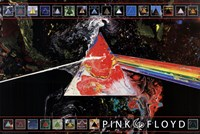 Pink Floyd Dark Side of the Moon - 40th A Wall Poster
