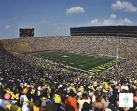 Michigan Stadium University of Michigan Wolverines 2011 Fine Art Print