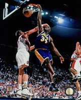 Shaquille O'Neal 1997-98 Action Fine Art Print