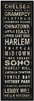Transit NYC II Black Fine Art Print
