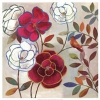 Floral Impressions II Fine Art Print