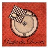 Buffet de Desserts Fine Art Print