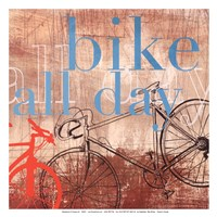 Bike all Day - Mini Fine Art Print