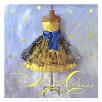 Yellow Dress Fine Art Print