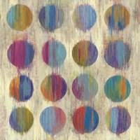 Ikat Dots II Fine Art Print