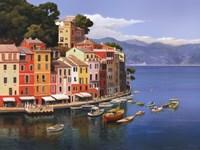 Portofino, Italian Riviera Framed Print