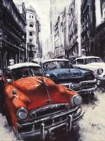 Havana Vintage Classic Cars II Fine Art Print