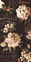 Fleurs Antique I Fine Art Print