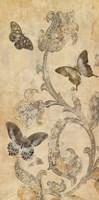 Papillion Decoratif I Fine Art Print