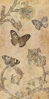 Papillion Decoratif II Fine Art Print