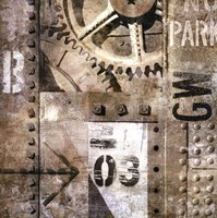 Industrial I Fine Art Print