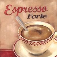 Espresso forte Framed Print