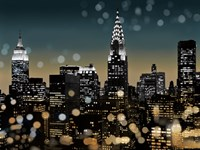 New York Night I Fine Art Print