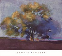 Twilight Oak III Fine Art Print