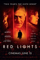 Red Lights Wall Poster