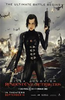 Resident Evil: Retribution Wall Poster