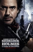 Sherlock Holmes A Game of Shadows B Wall Poster