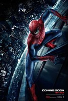 The Amazing Spider-Man (on a building) Wall Poster