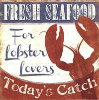 Fresh Seafood I Fine Art Print
