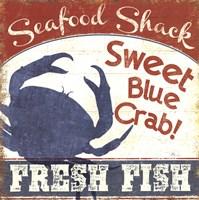 Fresh Seafood II Fine Art Print