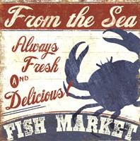 Fresh Seafood IV Fine Art Print