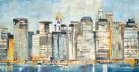 Waterfront Skyline Fine Art Print