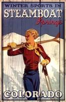 Ski Steamboat Springs Fine Art Print