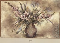 FRESCO FLORAL IV Fine Art Print