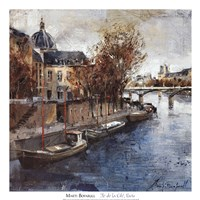 Ile de la Cite, Paris Fine Art Print
