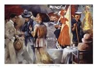 Cafe Bon Voyage Fine Art Print