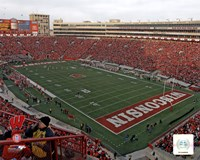 Camp Randall Stadium University of Wisconsin Badgers 2012 Fine Art Print