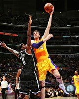 Pau Gasol 2012-13 Action Fine Art Print