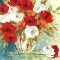 Vibrant Bouquet I Framed Print