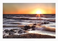 Sunset at Blue Point Fine Art Print