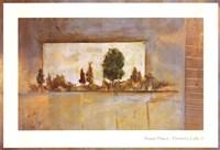 PAINTER'S LAKE II Framed Print