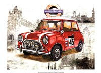 British Car Fine Art Print