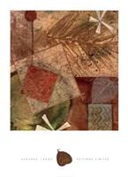 Gilded Leaf III Fine Art Print