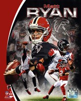Matt Ryan 2013 Portrait Plus Framed Print