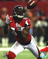 Roddy White 2012 NFC Divisional Playoff Action Framed Print