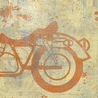Motorcycle II Fine Art Print