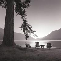 Crescent Lake I Fine Art Print